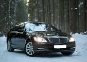 Прокат авто с водителем в Минске. Mercedes W221 S550 Long.